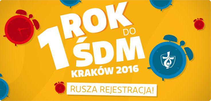 It's a year before WYD! This Sunday we're starting to count / ROK DO ŚDM - rozpoczynamy odliczanie! Już w tą niedzielę :)