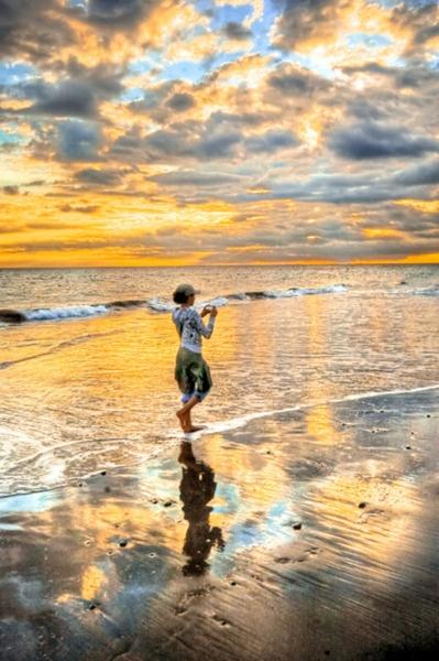 Photographed by José Miguel Rodríguez: Beaches, Reflection, Color, Beautiful, Art, Sunrise Sunset, The Beach, Photo, Sunrises Sunsets