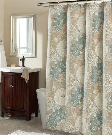 Suzy Blue Shower Curtain Zulilyfinds