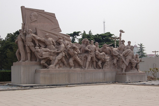 Pekin, Plac Tian'anmen by urloplany.pl, via Flickr #China