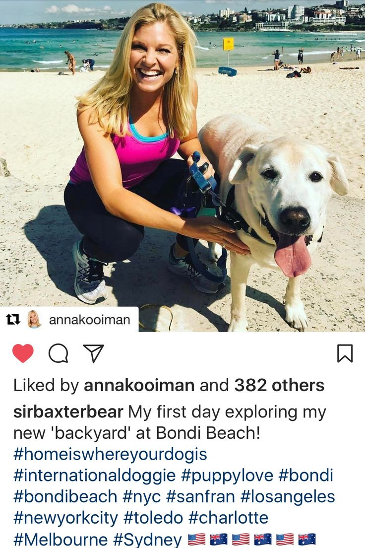 Anna Kooiman and her dog, Baxter