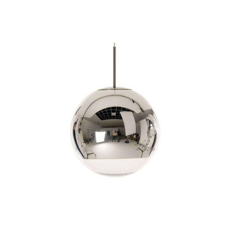 Photo 1 of 3 in Tom Dixon Mirror Ball Pendant Light - Dwell