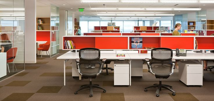 Antenna Workspaces Big Table With Generation By Knoll Chars At Fallon Knoll Project Profile