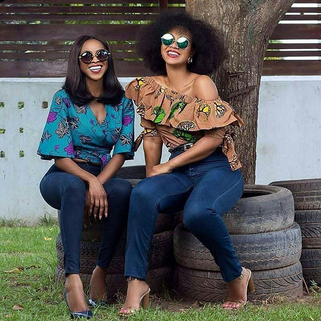 New Ankara Styles Siks Nd Tops: Classic And Beautiful Ankara Styles Of 2018