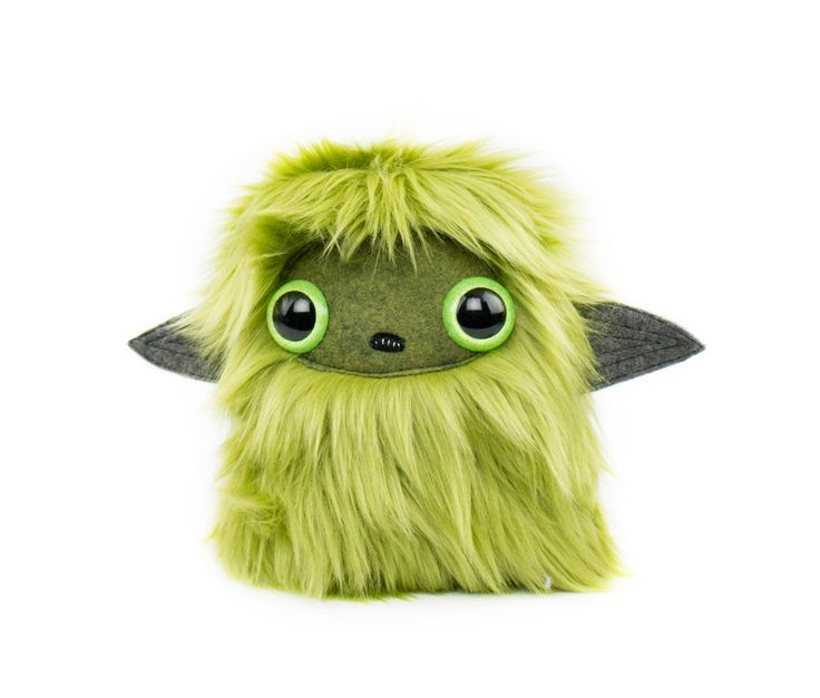 Glow Green Nugget Plushie Cool Critter by CoolCritters on Etsy