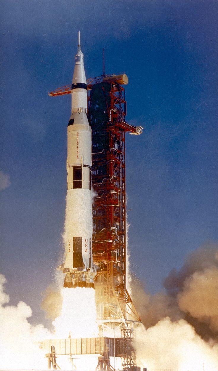 Apollo 11 Liftoff - 1969
