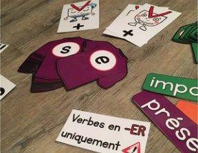 garde-robe du verbe affichage évolutif conjugaison