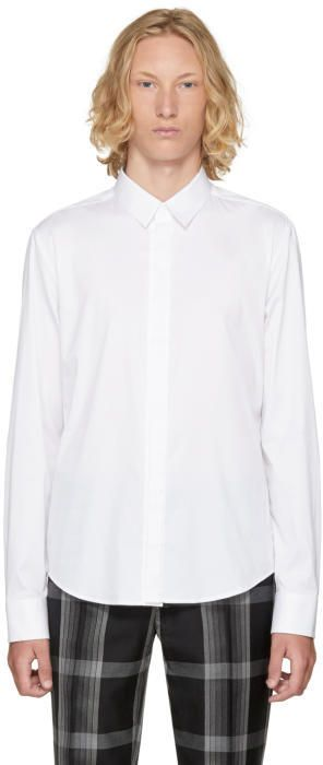 Wooyoungmi White Button-Up Shirt
