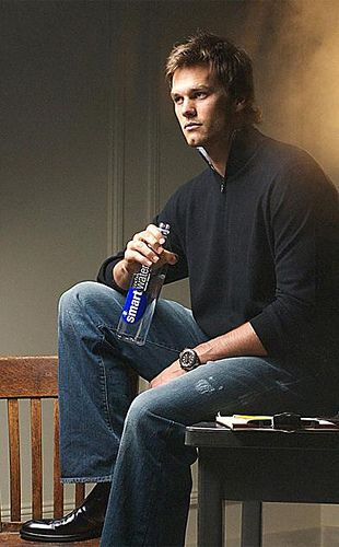 Tom Brady drinks Smart Water, I drink Smart Water...I think that means we're soulmates...
