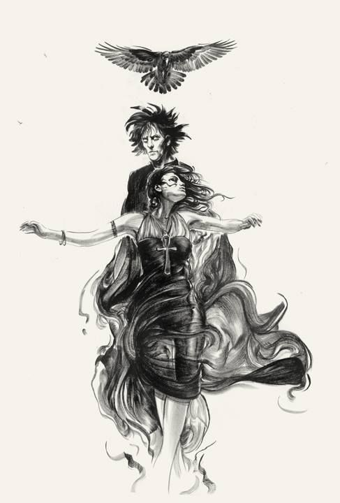 Sandman and Death by Greg Ruth