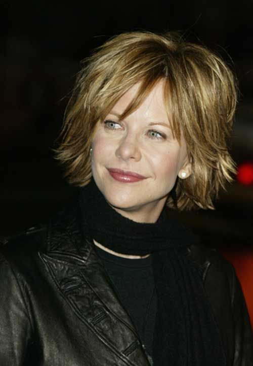 New Meg Ryan Short Hairstyles | The Best Short Hairstyles for Women 2015