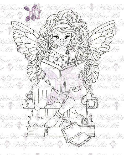 Digital Stamp Fairy One Dollar Off Digital Stamp Fairy