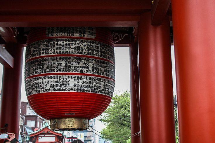 Sensō-ji Shrine, and culture shock. Tokyo, Japan.