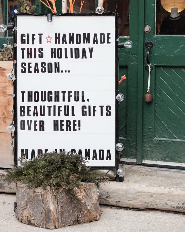 Over here! Gifts they'll love for years to come. #shoplocal