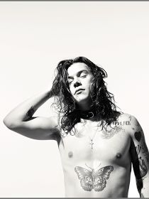 Nothing Seems As Pretty As The Past: Photoshoot: Harry Styles in Another Man Magazine