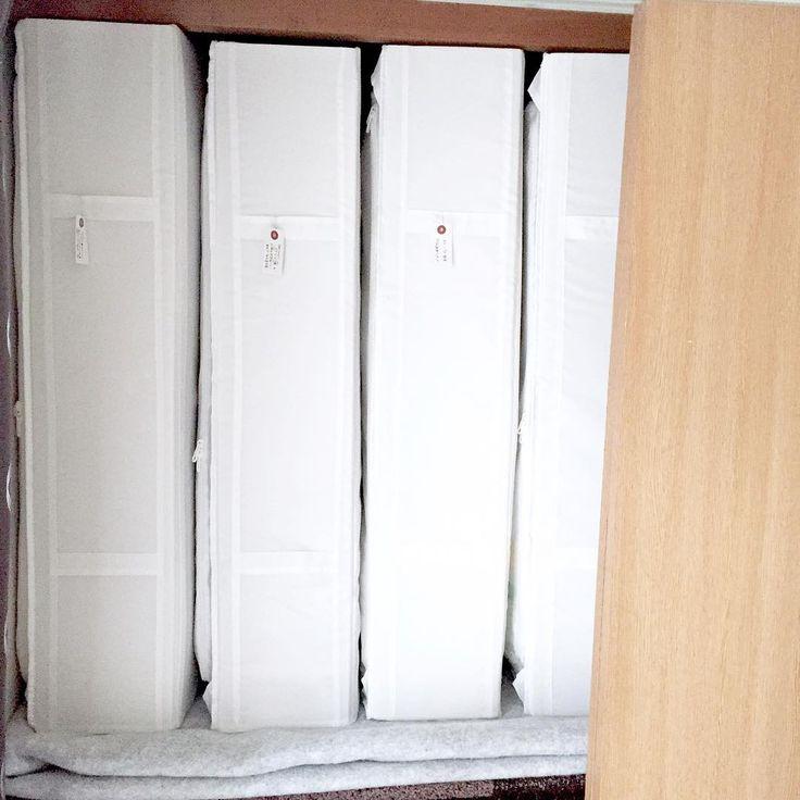 布団派必見!「布団どこにあるの?」って言われる布団の収納術をご紹介 ... 収納のキホンは縦収納