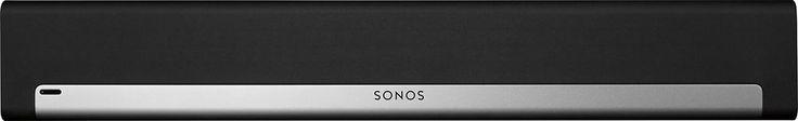 Sonos - Playbar Soundbar Wireless Speaker - Black/Silver