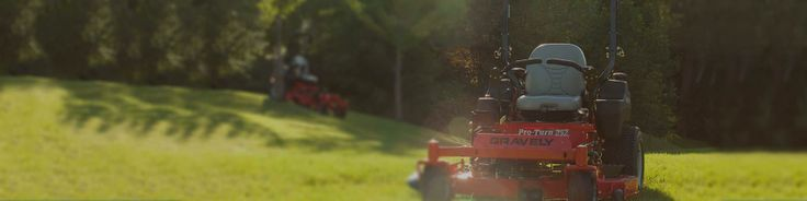The Gravely Commercial Lawn Mowers site has been given a thorough Spring freshening. Give it a look and learn about the expansive product lines we offer.   #Gravely