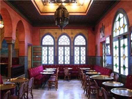 Café Maure at the Paris Mosque