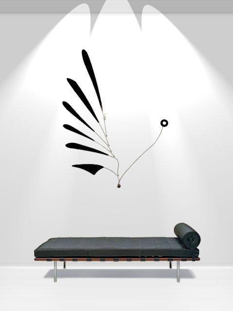 custom hanging mobiles kinetic sculptures art