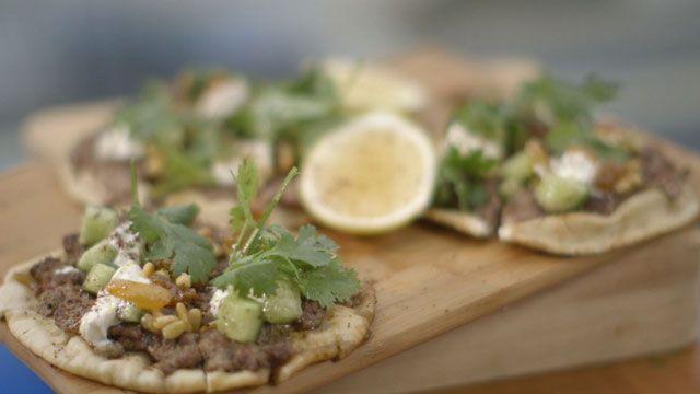 Gary Mehigan's pitta kofta recipe: http://www.livingroomtv.com.au/food-gary-mehigans-pitta-kofta-recipe.htm