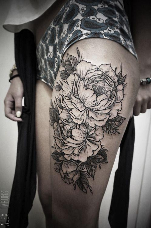 Flower tatt..