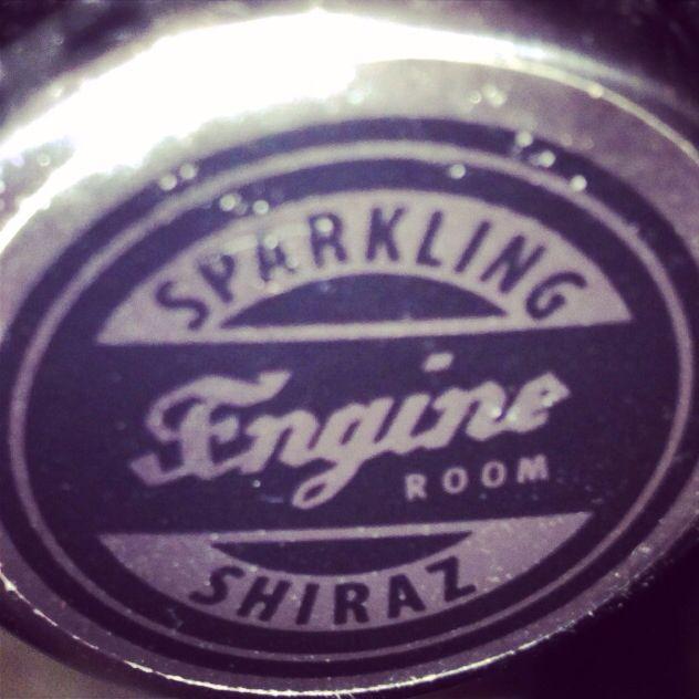 Sparkling engine room shiraz