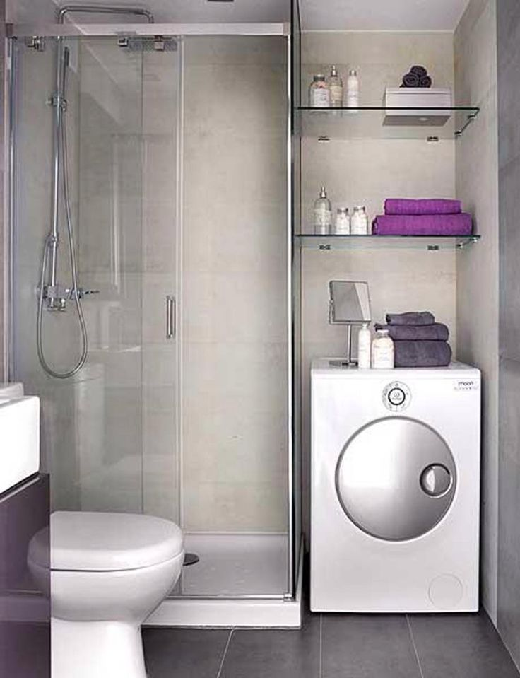 Great idea for a small flat with a small kitchen. In England most washing machines are in the kitchen!!