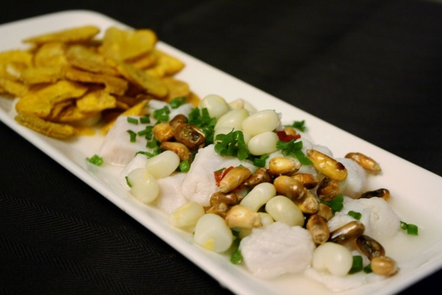Tilapia Ceviche | First Tasting Dinner (Dec 8, 2012) | Photo: th3hungrycat