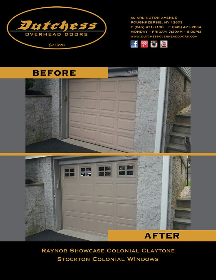 Dutchess overhead doors inc check out our website www for Garage door service fort collins
