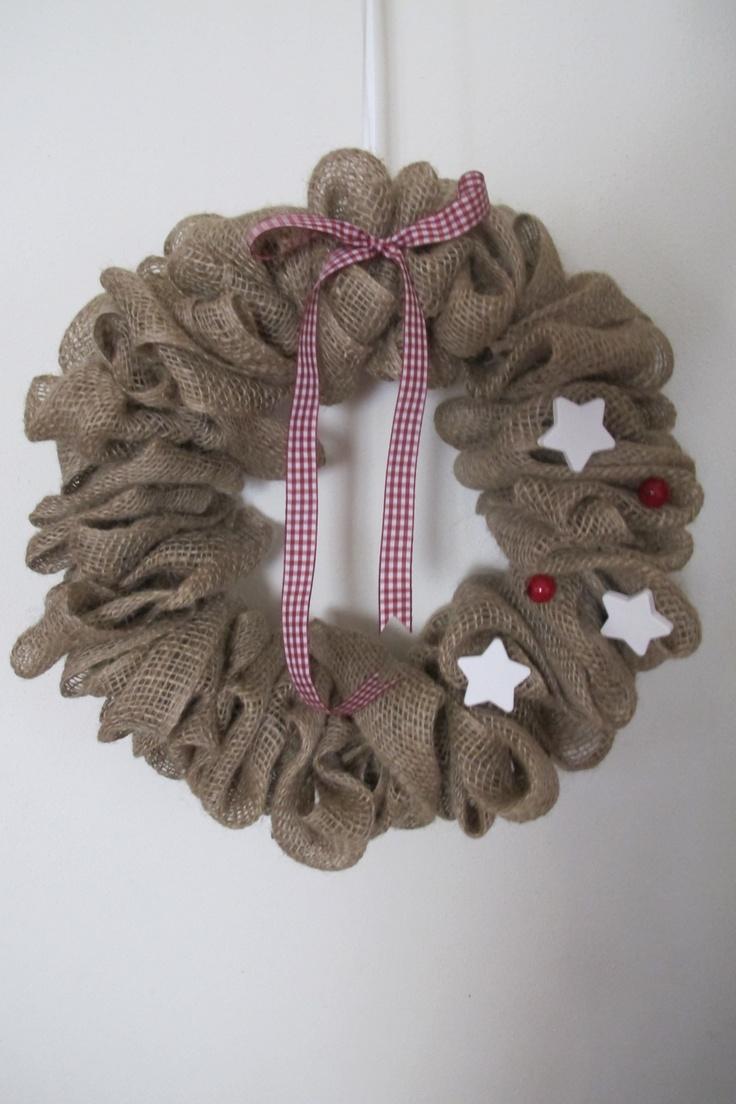 Oltre 1000 idee su decorazioni natalizie fatte a mano su - Corone natalizie da appendere alla porta ...