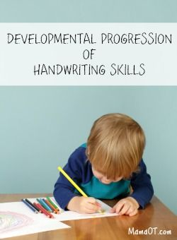 An occupational therapist breaks down the developmental progression of handwriting skills, including pencil grasp and pre-writing development.