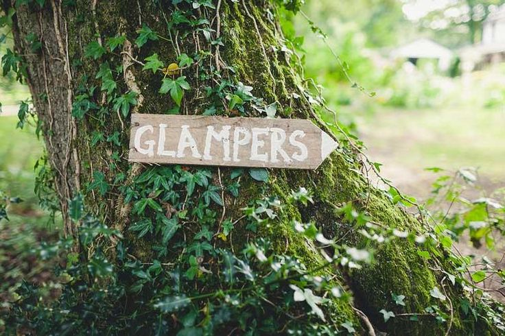 Glampers sign