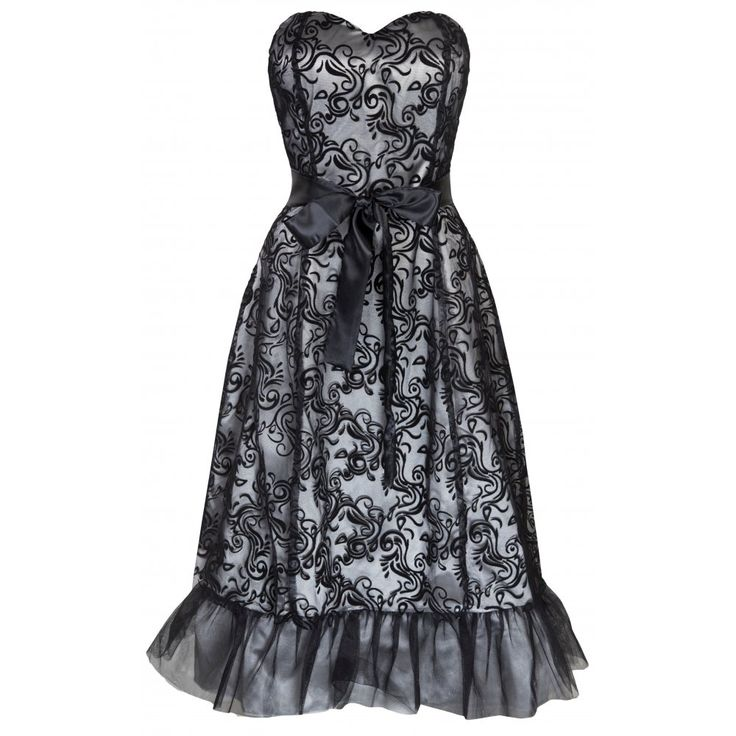 Maisie Black Ball Gown | £10.49 in the Lindy Bop Sale