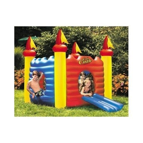 Kids Inflatable Toys children outside Playhouse bouncy Castle floats swimming