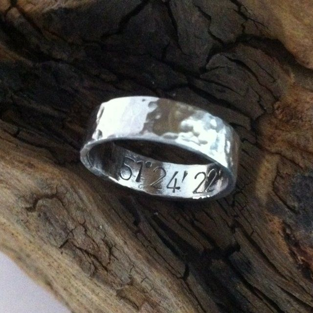 Everyone has a special place... Keep it close with the #longitude and #latitude ring  #jewellery #silver #wedding #gift    http://pict.com/p/BVM
