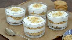 Cuuking! Recetas de cocina: Serradura portuguesa. Mousse de leche condensada