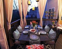 Jak urządzić balkon? - ciekawe pomysły na aranżację przestrzeni balkonowych - Taras - zdjęcie od MartaWieclawDesign