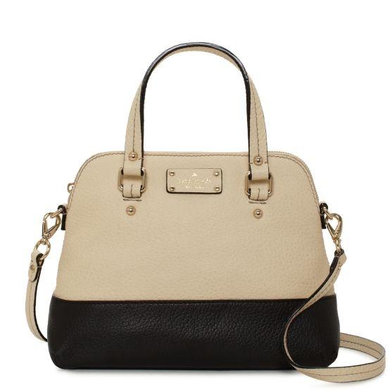 kate spade   leather handbags - grove court maise