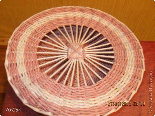 Поделка изделие Плетение Авторские крышечки Бумага газетная фото 3