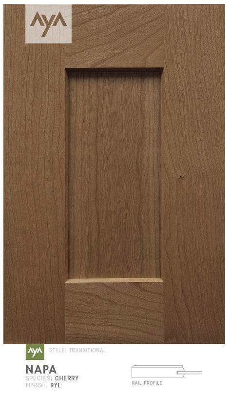 AyA Kitchens - Napa Rye Cherry door