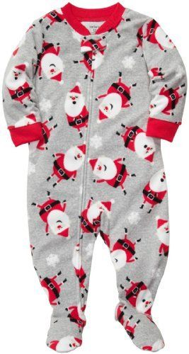 Carter's Boys 1-piece Micro-fleece Christmas Pajamas (Youth 4, Grey Santa) Size: Youth 4 Color: Grey Santa Model: (Newborn, Child, Infant)   Carters L/S Footed Blanket Sleeper - Santa Carter's is the leading brand of children's clothing, gifts and accessories in America, Read  more http://shopkids.ca/baby-boys/carters-boys-1-piece-micro-fleece-christmas-pajamas-youth-4-grey-santa-size-youth-4-color-grey-santa-model-newborn-child-infant