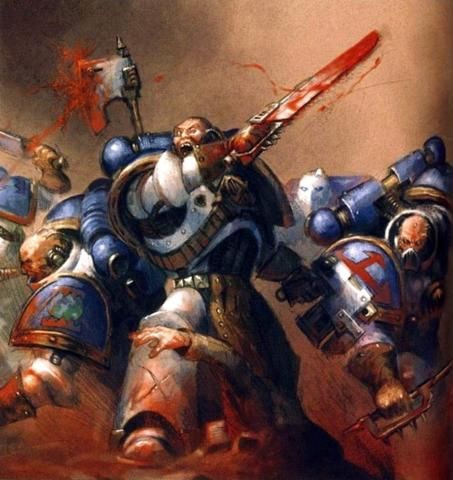 Rampager Squads were specialised shock assault units within the ranks of the World Eaters Legion http://warhammer40k.wikia.com/wiki/Rampager_Squad_(World_Eaters)