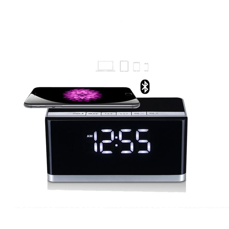 MUSKY DY-27 Bluetooth Wireless Speaker with LED Display Clock Alarm FM Radio Support AUX TF Card USB Playing Loudspeaker //Price: $53.98     #dronestagram