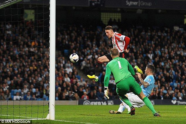 Manchester City 2-2 Sunderland: Pellegrini's men are all but out of title race as Connor Wickham equalises