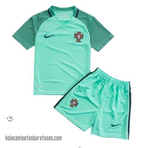 Camiseta Nino Segunda Portugal Euro 2016  €15.5