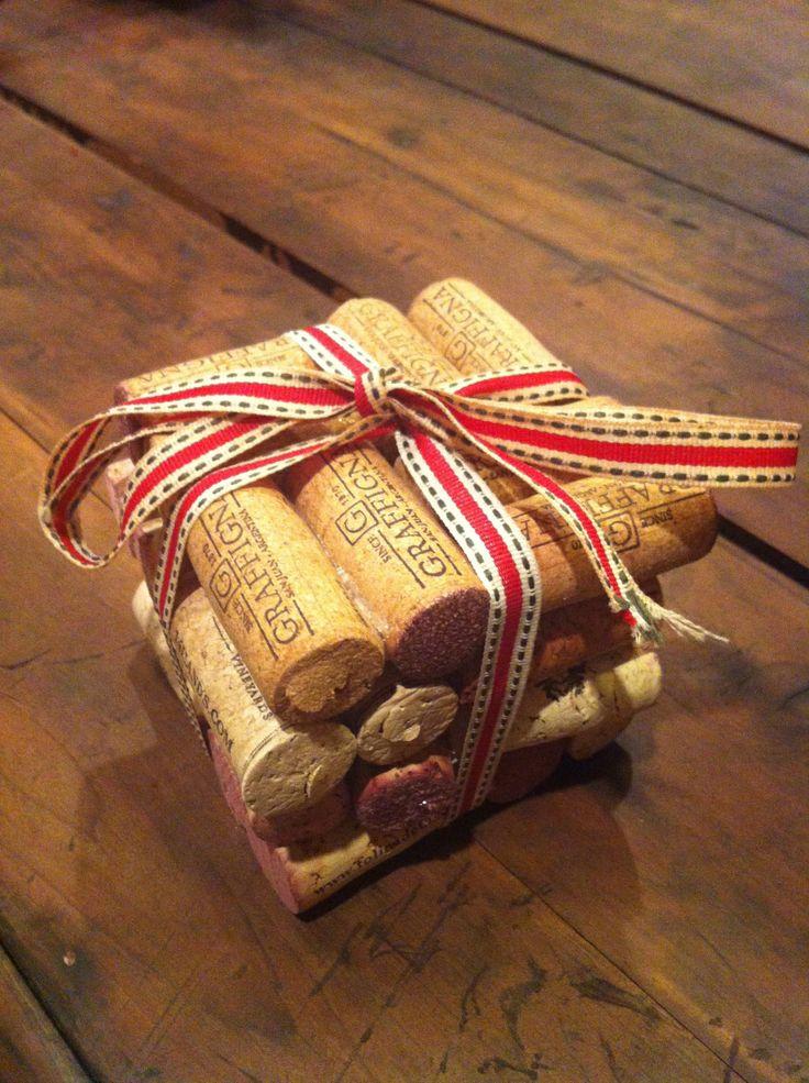 Diy cork coaster crafts pinterest diy christmas for Cork coasters for crafts