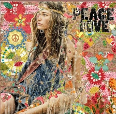 ☮ American Hippie Art ☮ Peace and Love