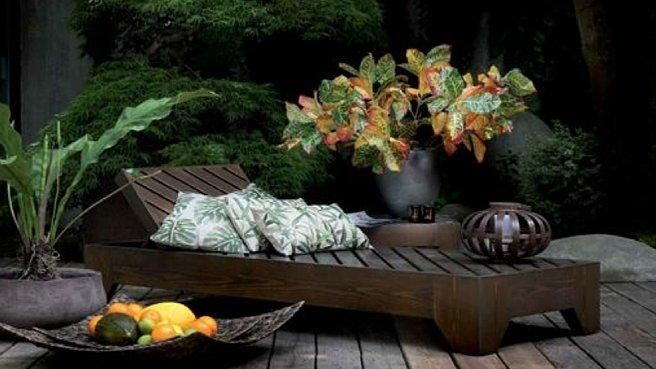 Terrasse style jungle
