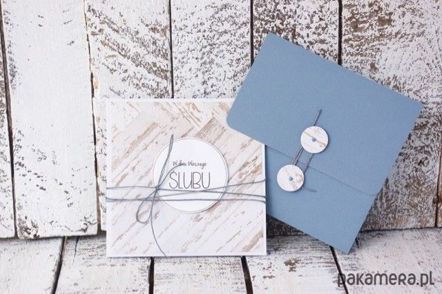 Kartka na ślub - scrapbooking - kartki okolicznościowe - Pakamera.pl